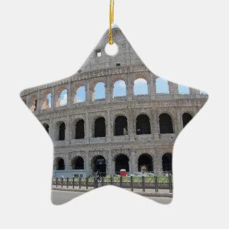 Colosseum Rome On! Ceramic Star Ornament
