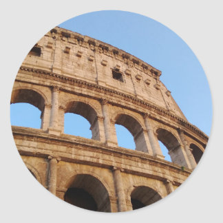Colosseum Round Sticker