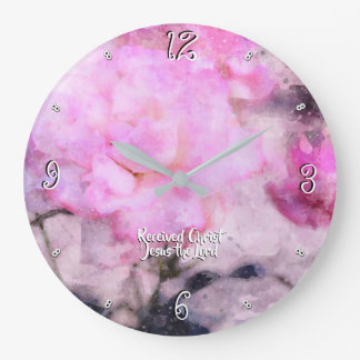Colossians Chapter 2 -93 Large Clock