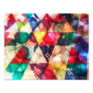 Colour Bed Print Photo