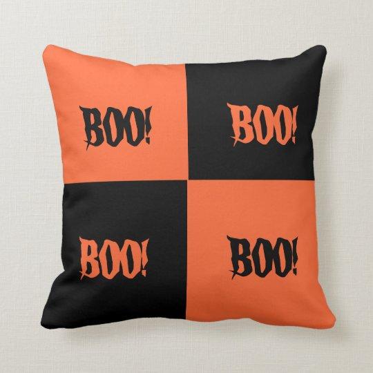 Colour Block Halloween Pillow