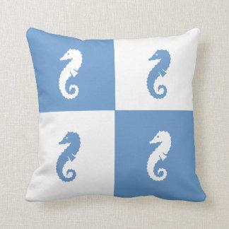 Colour Block Pillow Seahorse