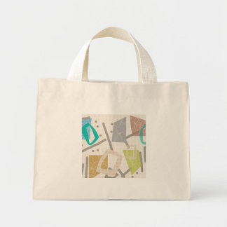 Colour Block Tiny Tote