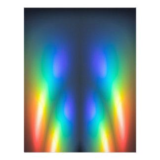 Colour burst letterhead