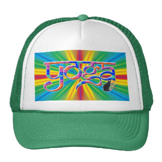 Colour Burst Yoga Trucker Hat