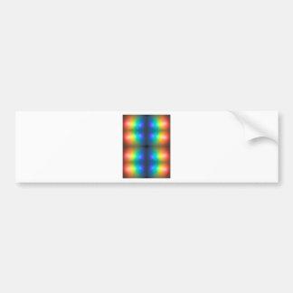 Colour Chaos abstract. Bumper Sticker