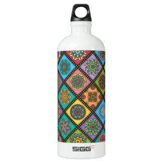 Colour Crazy Mandala Quilt Bee Water Bottle