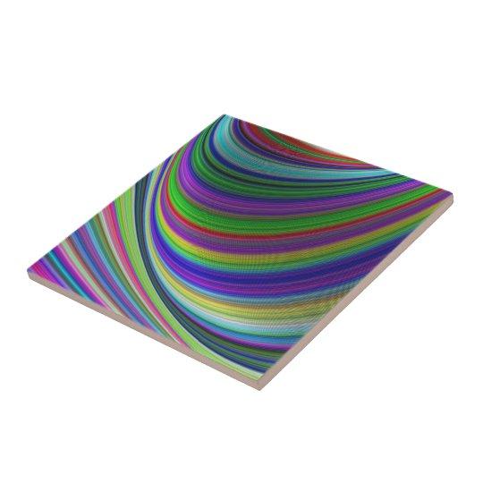 Colour curves tile