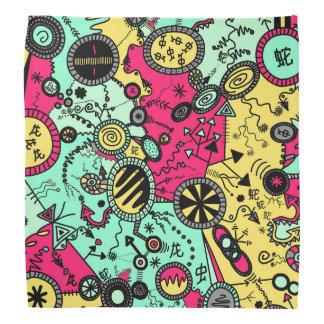 Colour Doodle Bandana