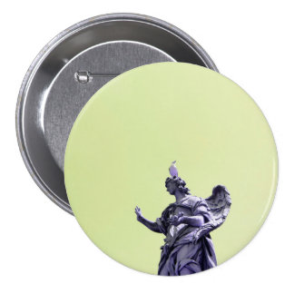 Colour effect, filtered, modern simple photography 3 inch round button