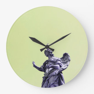 Colour effect, filtered, modern simple photography large clock