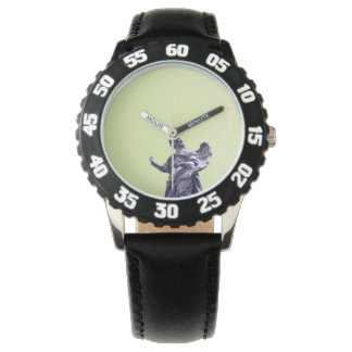 Colour effect, filtered, modern simple photography wristwatch