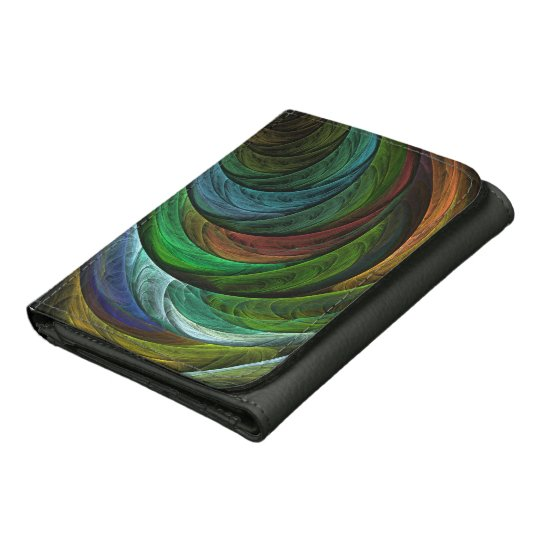 Colour Glory Abstract Art Faux Leather Wallets