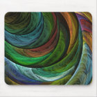 Colour Glory Abstract Art Mousepad