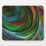 Colour Glory Abstract Art Mousepad