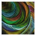 Colour Glory Abstract Art Photo Print