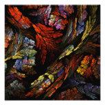 Colour Harmony Abstract Art Photo Print