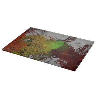 Colour Invasion Cutting Board