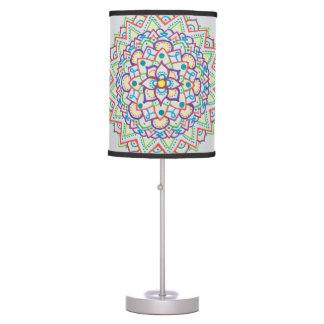 Colour Mandala Lamp