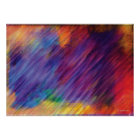 Colour Movement Digital Abstract Painting Poster