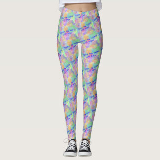 Colour My World With Hope Leggings