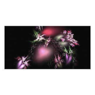 colour-of-nature-fractal personalized photo card