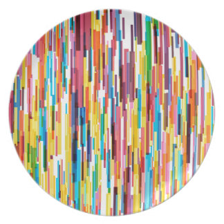 Colour Pikes Pattern Plate