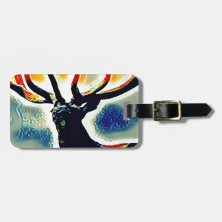 Colour Points Luggage Tag