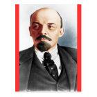 Colour portrait of Lenin Postcard