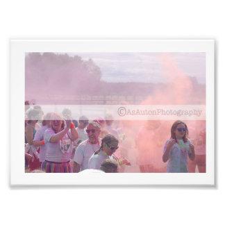 Colour Rush Photo Print