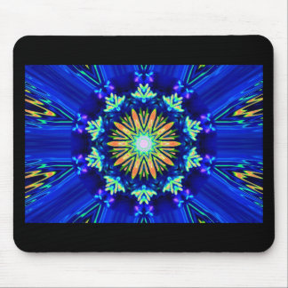 Colour Swirl Image Mouse Pad