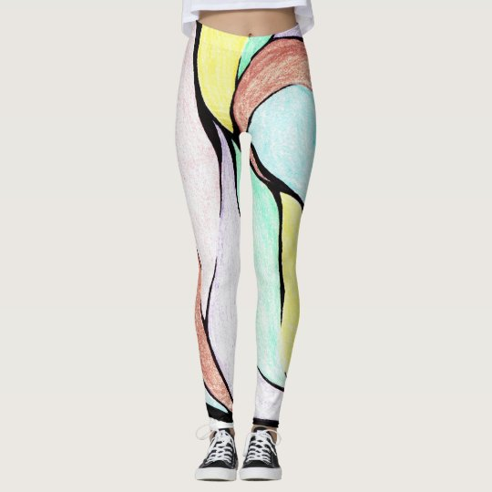 Colour Twist (Pastel Mix) Leggings