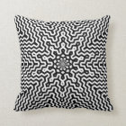 Colour Your Own Kaleidoscope Pattern Throw Pillow