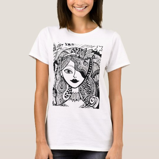 Colour Your Own Zendoodle Products T-Shirt