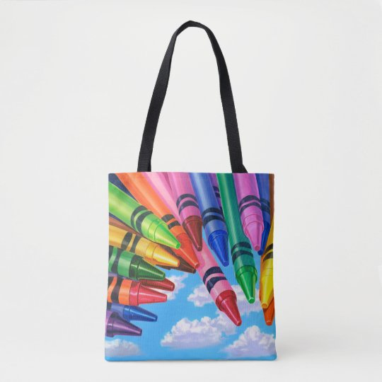 Colour Your World Tote Bag