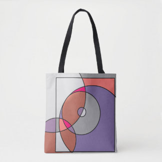 Coloured artwork bag