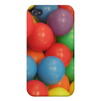 Coloured Balls Case For The iPhone 4
