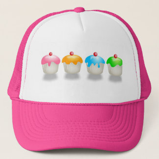 Coloured Buns Trucker Hat
