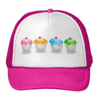 Coloured Buns Trucker Hat