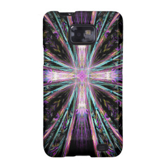 Coloured Cross Samsung Galaxy S2 Cover