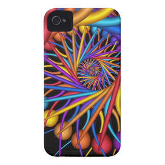 Coloured Dew Drops, Abstract Blackberry bold case