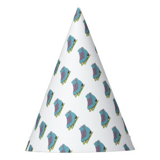 Coloured Figure Skates Birthday Party Supplies Party Hat