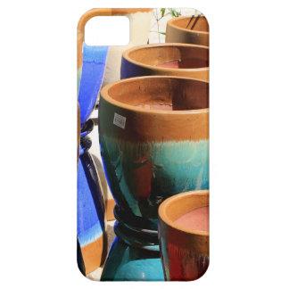 Coloured garden plant pots iPhone 5 case