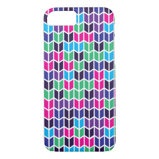 Coloured Geometric Pattern iPhone 7 Case