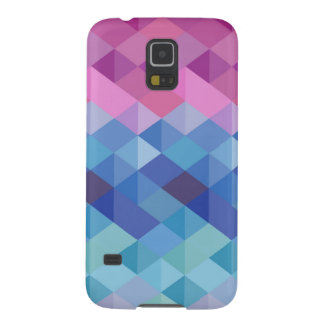 Coloured Geometry Galaxy S5 Covers