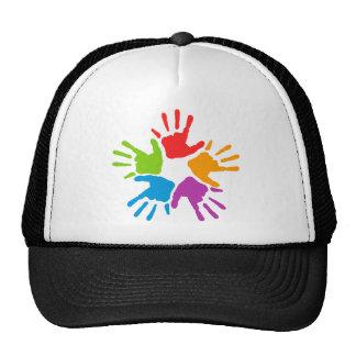 Coloured Hands Trucker Hat