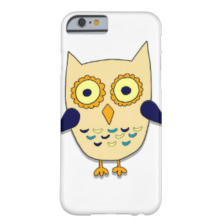 Coloured owl barely there iPhone 6 case