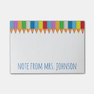 Coloured Pencils 2 Post-it Notes