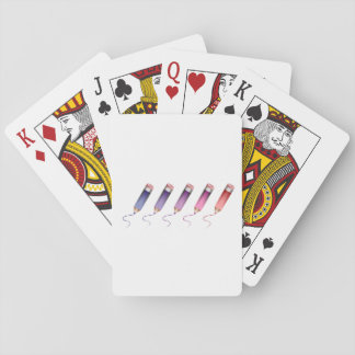 Coloured Pencils Playing Cards