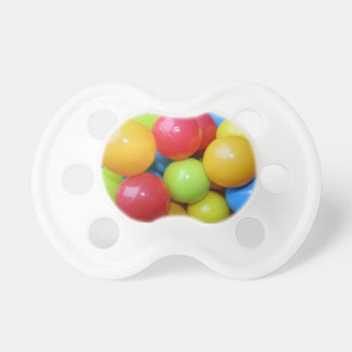 Coloured Plastic Balls Pacifier/Dummy Baby Pacifier